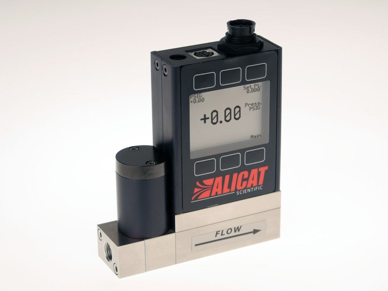 Alicat PC-EXTSEN-series pressure controller with external sensor connector