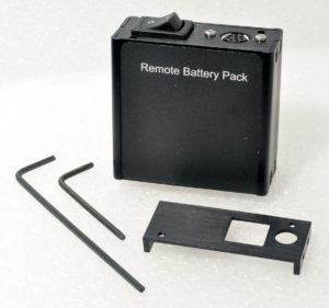 BPACK 9-volt battery pack kit for Alicat flow meters and pressure transducers