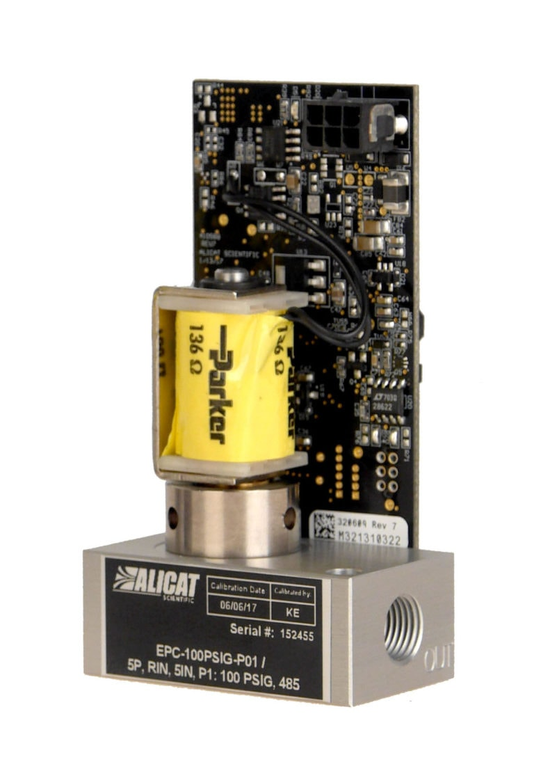 Alicat EPC electronic pressure controller for OEMs